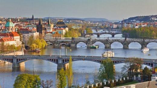 Budimpešta-Dunaj-Praga